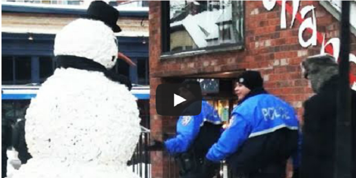What Happens When You Realize A Snowman... Is Alive