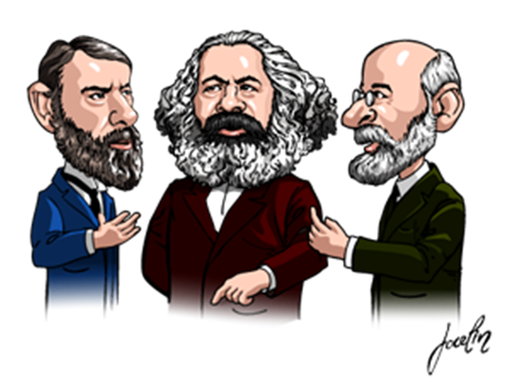 a description of capitalism on the views on society on marx and weber To marx, profit is basically the accumulated exploitation of workers in capitalist society control of the economic base means control of the superstructure according to marx those who have economic power control all other institutions during marx's day there was some evidence to suggest this was true – voting was restricted to men with.