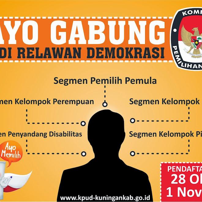 KPU Rekrut Relawan Demokrasi PEMILU 2014