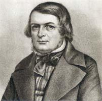 Henrik Bernhard Palmær, Lithographi in der Zeitung Nordstjernan, 1848