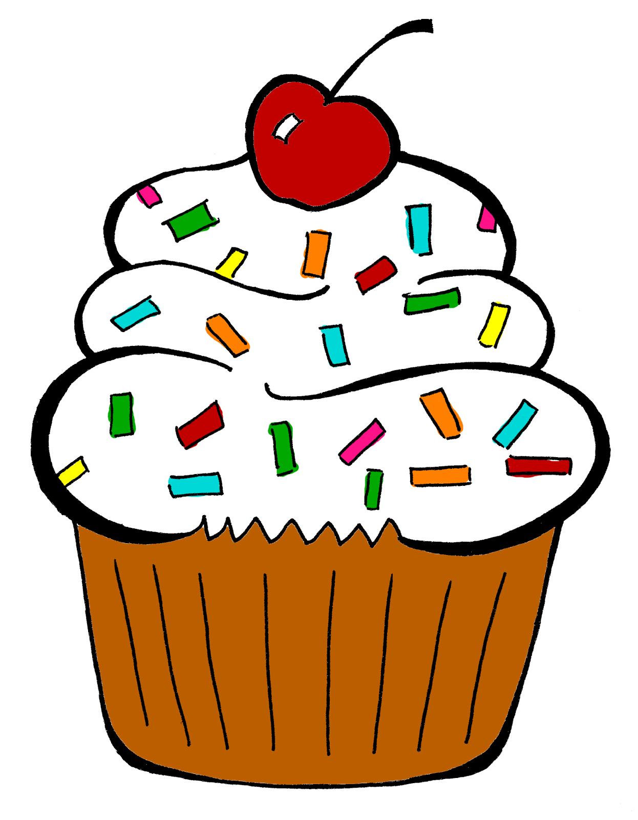 De l 39 autre c t du miroir cupcake - Dessin cupcake ...