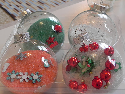 Christmas sensory and i spy ornaments activities for for Spy crafts for kids