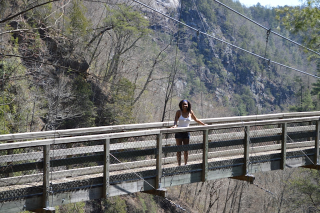 Suspension bridge - Tallulah Gorge - The City Dweller
