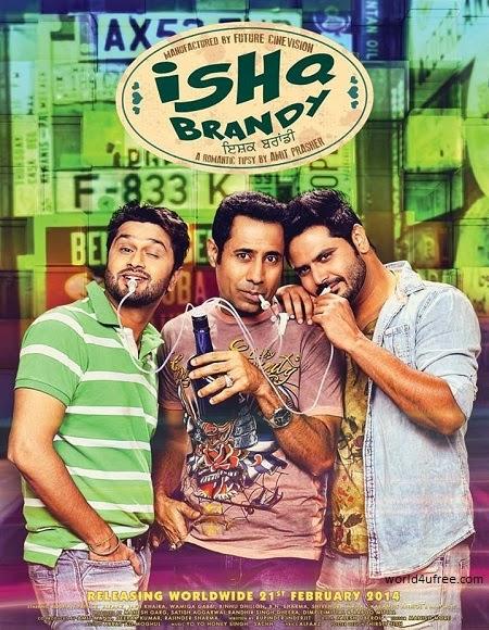 Ishq Brandy 2014 DVDScr 700mb MP3 Punjabi Movie
