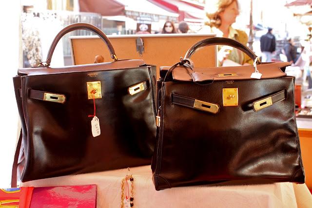 Vintage 'Kelly' Hermès bags