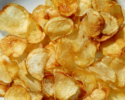 Napa Style Homemade Potato Chips Recipe — Dishmaps