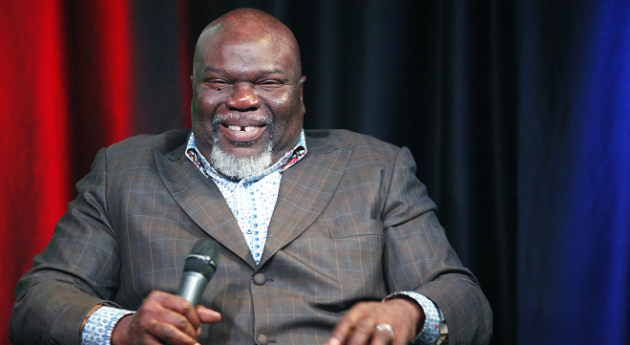 TD Jakes will start producing secular television shows