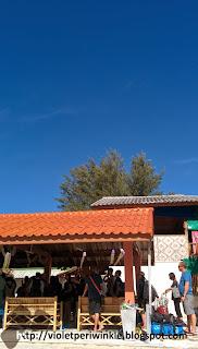 blue sky hut
