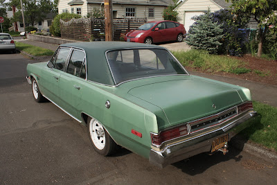 1973 Plymouth Valient Sedan.