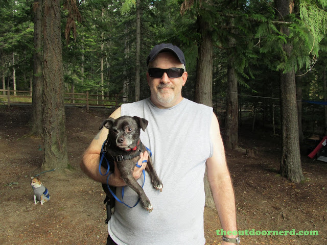 Outlet Campgrounds At Priest Lake, Idaho: Big Man, Little Dog 2