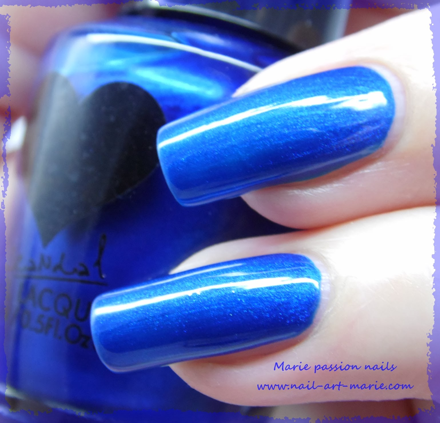 Vernis Scandal Sea Blue Pearl3
