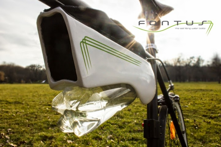 fontus self-Filling Water Bottle Invention Can Turn Air into drinking water