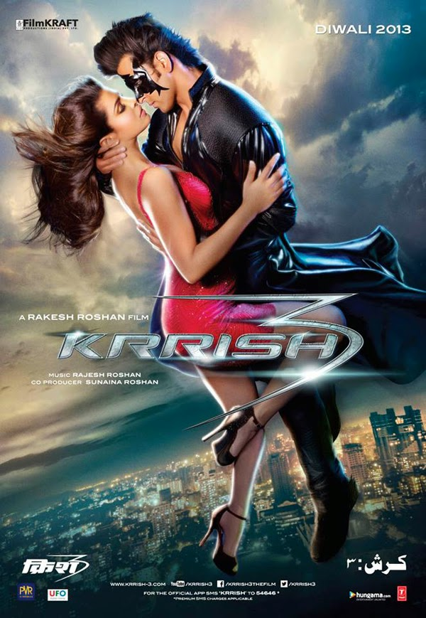 Watch Krrish 3 (2013) DVDScr Hindi Full Movie Watch Online For Free Download