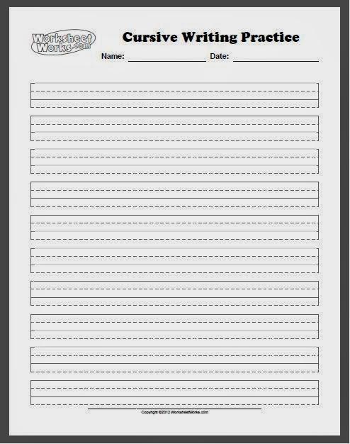 Improving Handwriting Worksheets