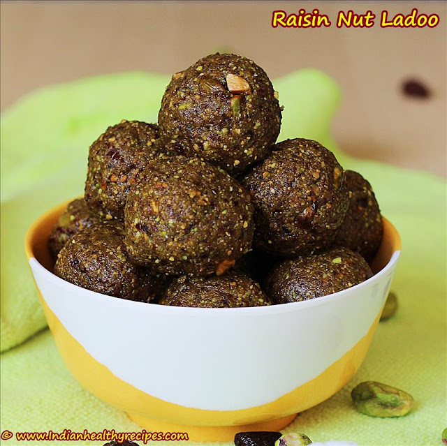 Raisin Nut balls