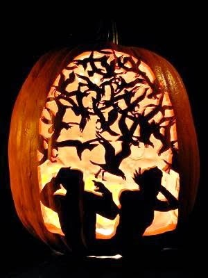 halloween jack o lantern illusions