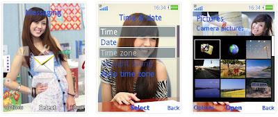 林盈臻SonyEricsson手機主題for Elm/Hazel/Yari/W20﹝240x320﹞