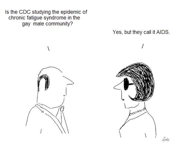 Julian lake, cartoon, cartoons, hhv-6, cdc, fraud, aids, centers for disease control, epidemiology