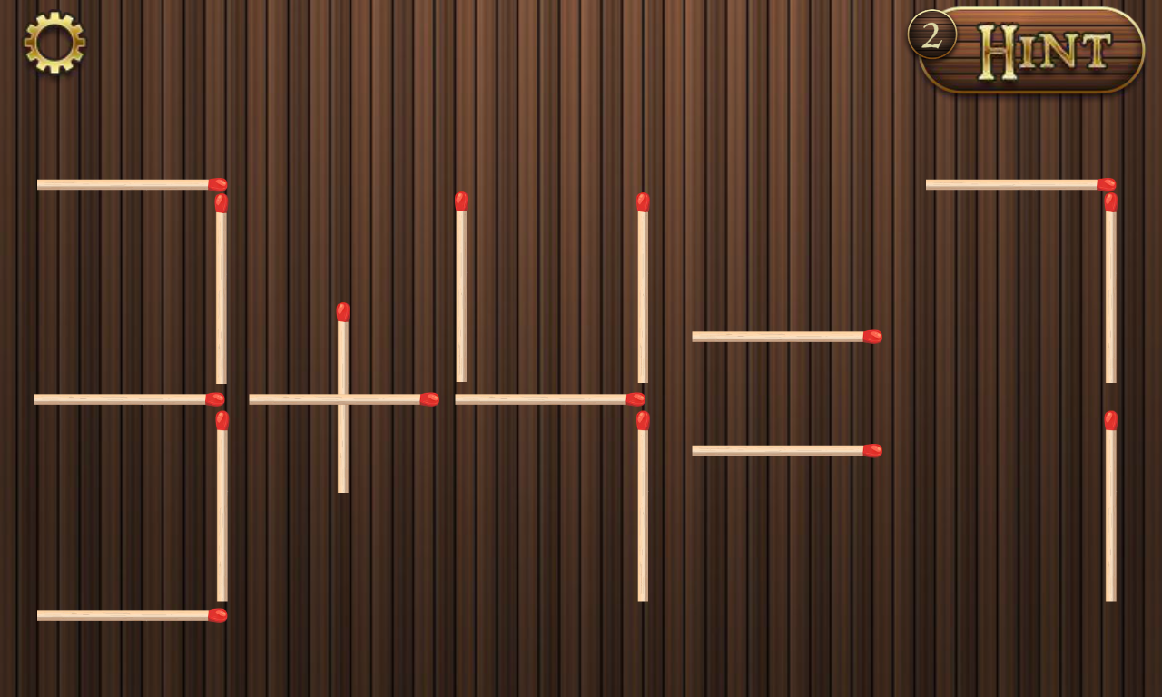 Math puzzle with sticks level 16 solution doors geek for 16 door puzzle solution