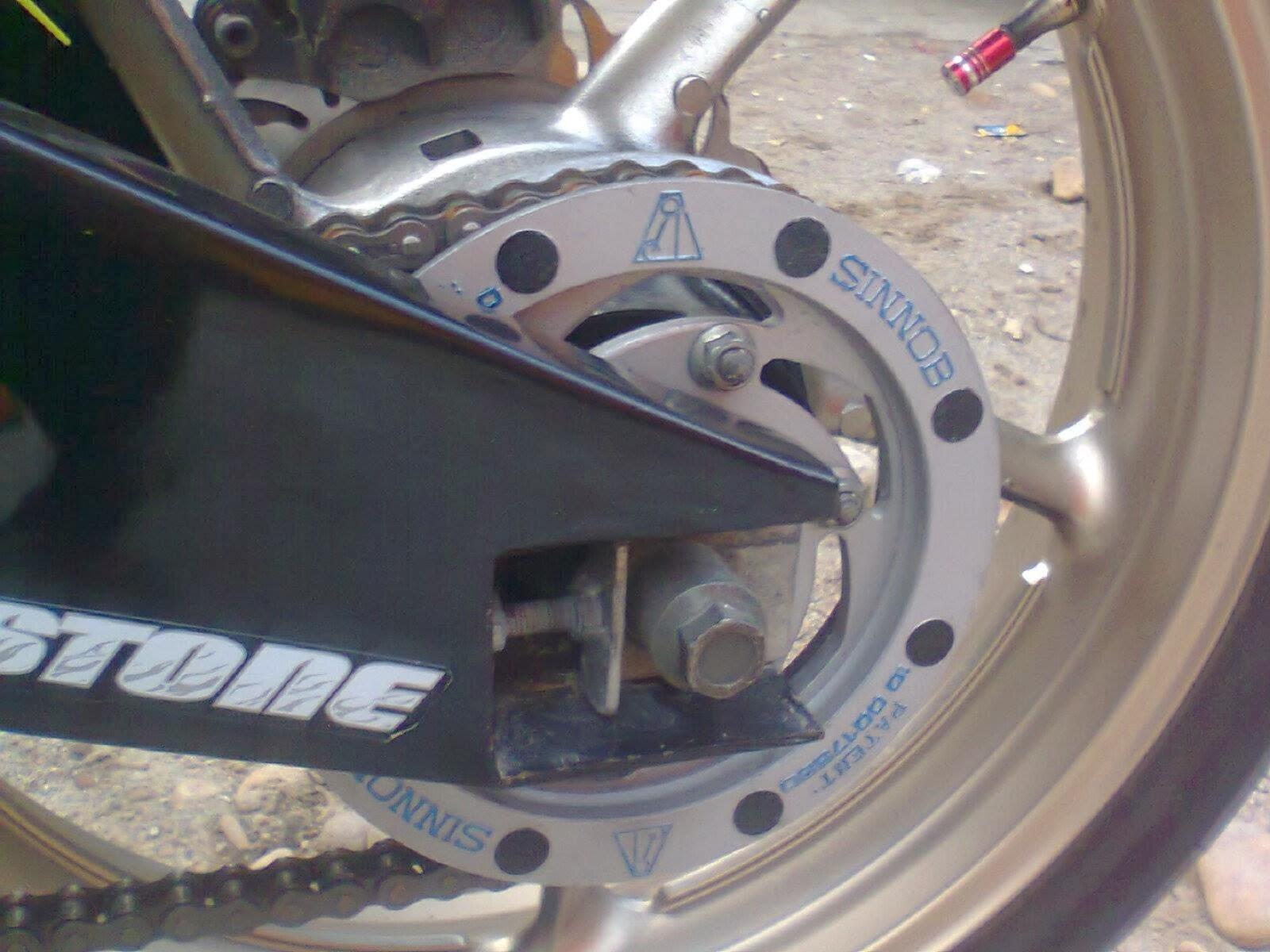 Modifikasi Knalpot Yamaha Fiz R