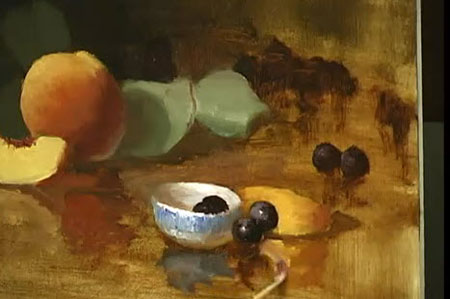 ... Robbins - Copper and Peaches - Video Lessons of Drawing & Painting