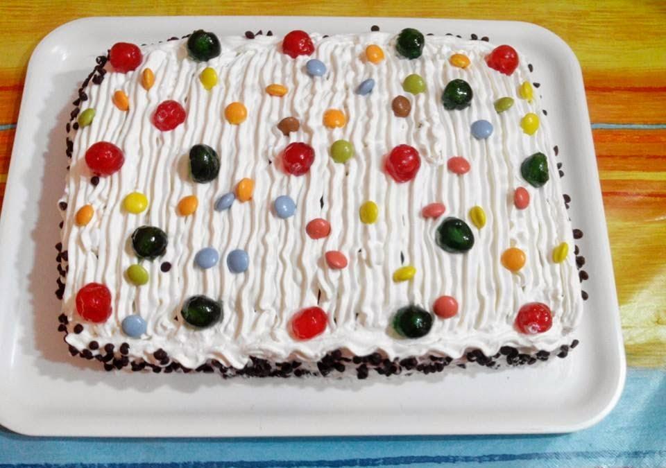 Facili Idee Torta Compleanno Colorata