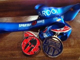 spartan stadium sprint race medal citi field