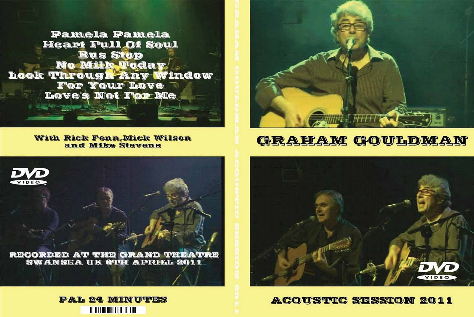 Graham Gouldman Pamela Pamela