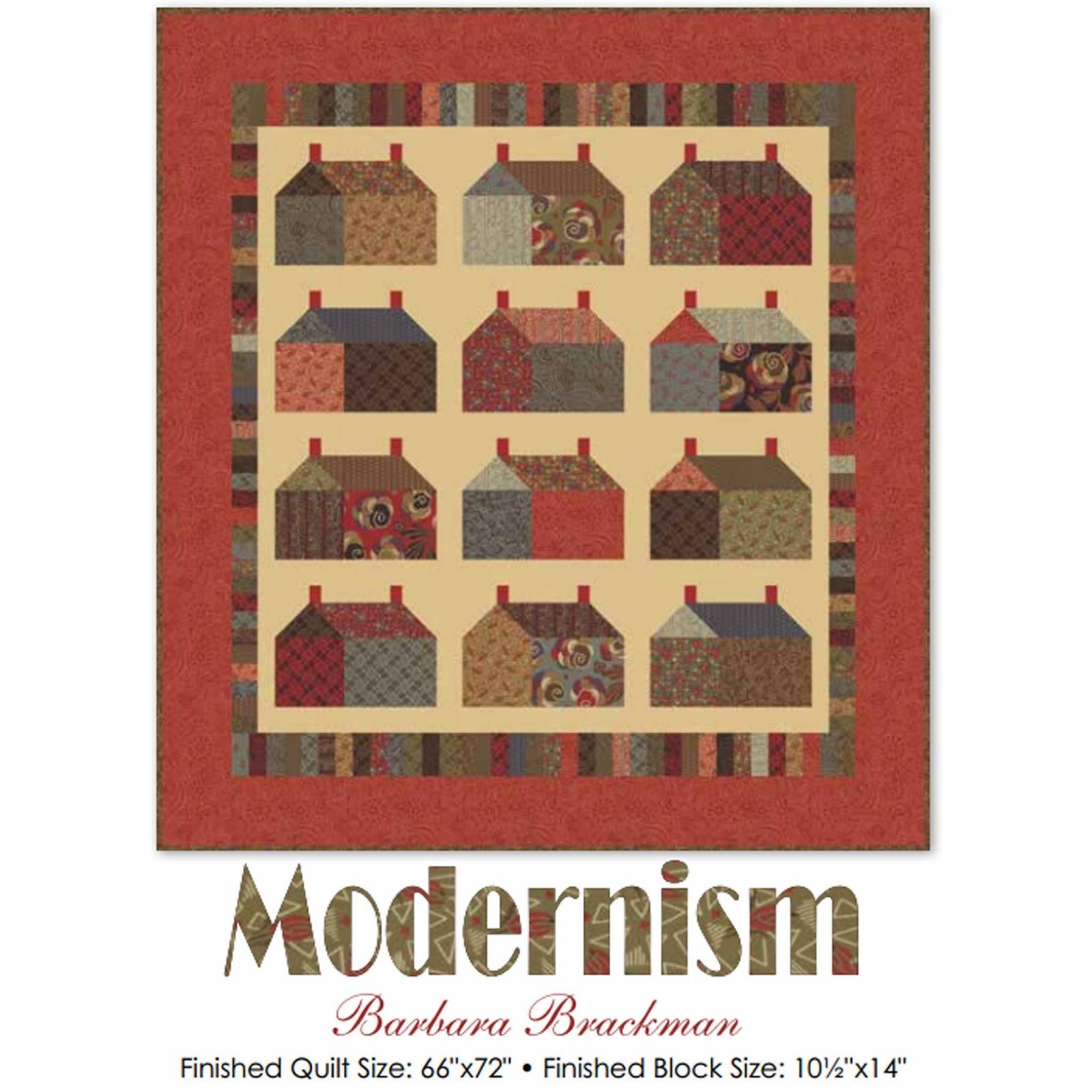 Moda MODERNISM Free Quilt Pattern