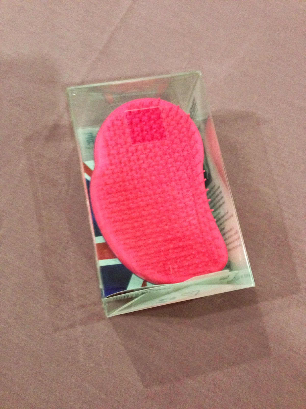 Tangle Teezer in Pink and Purple