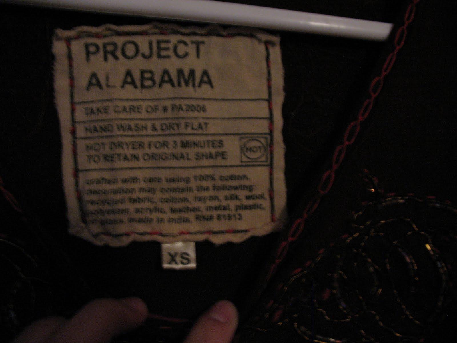Moving Sale!: Project Alabama Tank Top, EUC