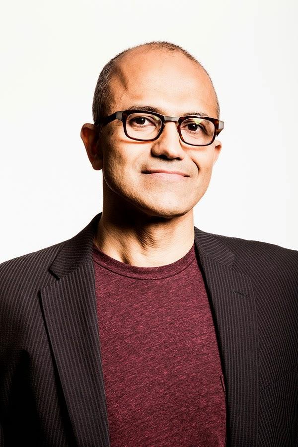 Microsoft's new CEO, Satya Nadella