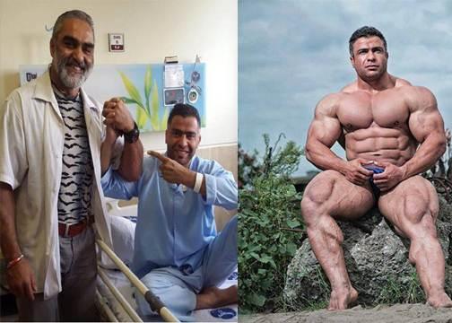Meghalt Baitollah Abbaspour, egykori profi testépítő