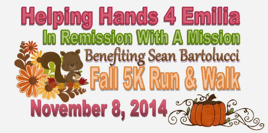 Sean Bartolucci Fall 5K Run & Walk
