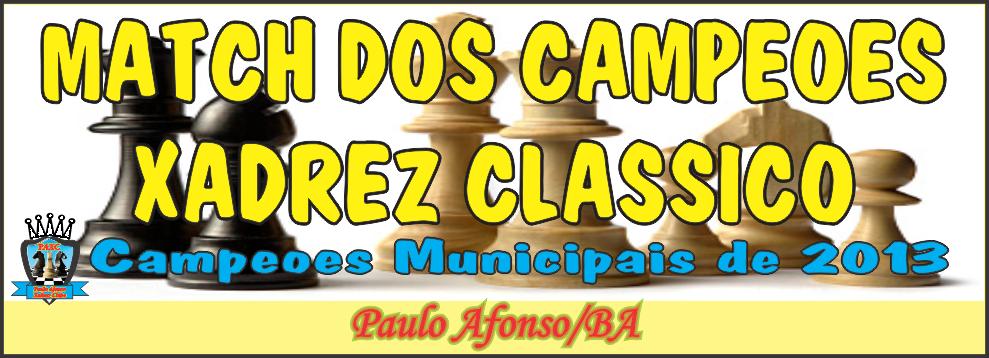 Paulo Afonso Xadrez Clube-PAXC