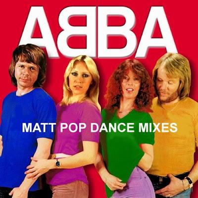 ABBA - Matt Pop Dance Mixes (Remix Album) 2012 disco hi-nrg eurobeat 70\'s 80\'s