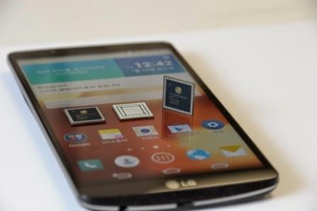 LG rilis prosesor octa-core bersamaan dengan LG G3 Screen