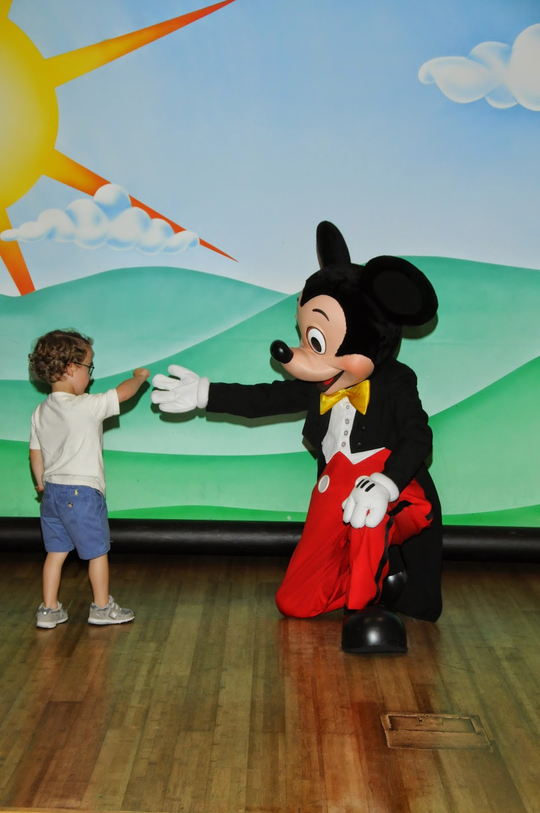 mickey and eddie first meet