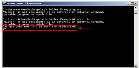 how to put a password on a folder windows 8