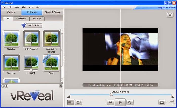 تحميل برنامج تقطيع لقطات من الفيديو والصوت vReveal