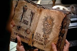sam raimi necronomicon posesión infernal diabólico despertar diablo libro antiguo ancient book film old