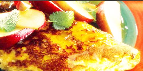 Omelette de manzanas