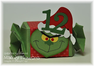 grinch punch art advent