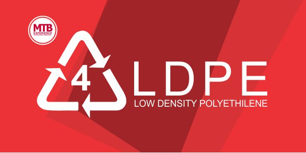 No. 4. LDPE (Low Density Polyethilene)