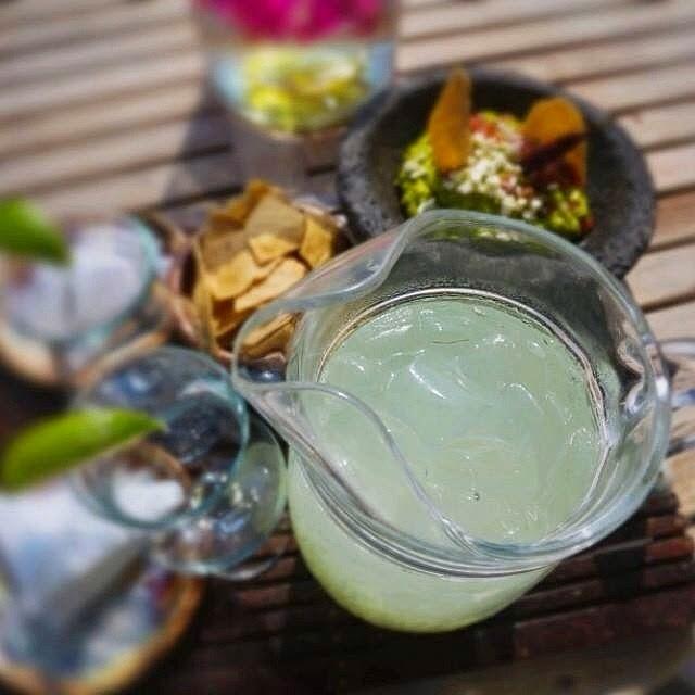 Margaritas served at St. Regis Punta Mita