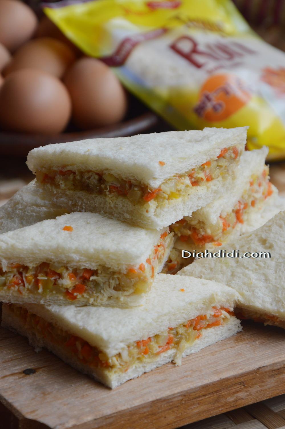 Diah Didis Kitchen Memanfaatkan Stock Roti Tawar Menjadi