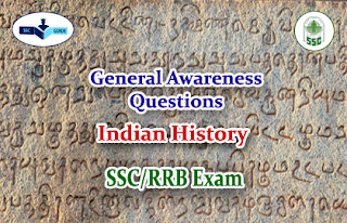 History –GK Quiz for SSC/RRB