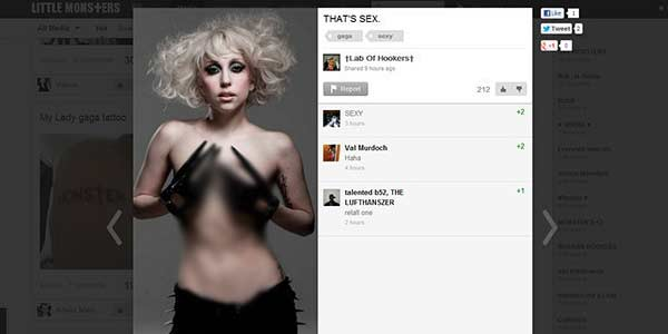 Situs Little Monsters: Jejaring Sosial Lady Gaga [ www.BlogApaAja.com ]