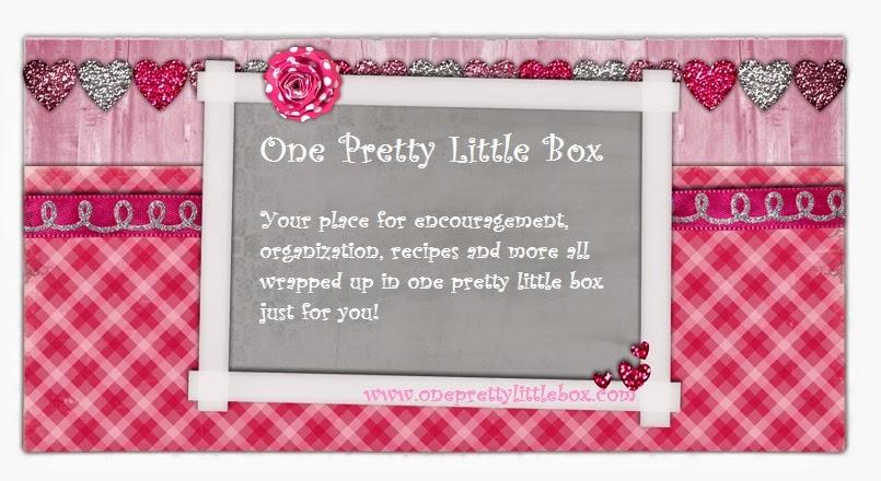 <center>One Pretty Little Box</center>