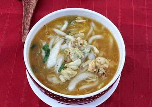 Vietnamese Noodle Recipes - Bánh Canh Tôm Cua